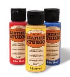 introducing leather studio leather vinyl acrylic paint