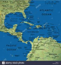 map maps usa florida canada mexico caribbean cuba south
