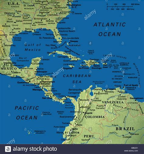 map of usa and cuba map maps usa florida canada mexico caribbean cuba south