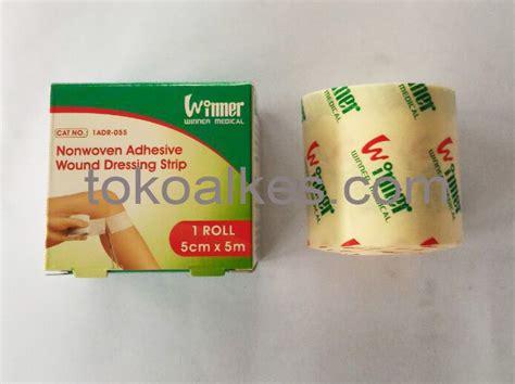 Dermafix T 10x12cm Plester Transparan Anti Air non woven adhesive wound dressing winner tokoalkes tokoalkes