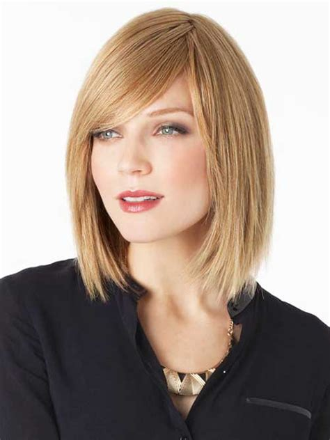 long hairstyles with side bangs long bob with side bangs the best short hairstyles for
