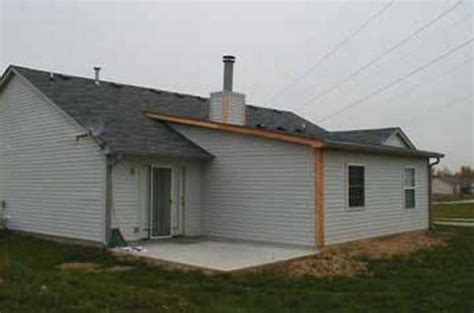 room home addition plans  shed type roof room