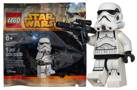 Lego Wars Stormtrooper Sergeant Polybag lego wars stormtrooper sergeant polybag en episode