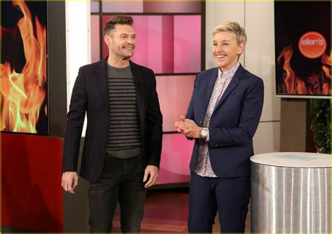 ryan seacrest house ryan seacrest talks about the fire at his house which ellen degeneres used to own