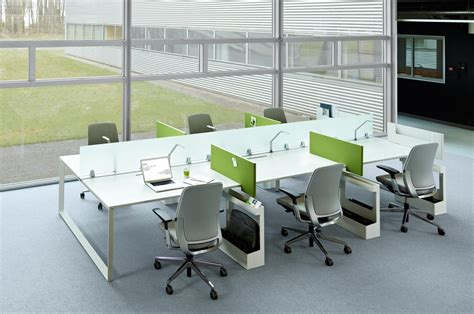 steelcase benching frameone loop escritorios individuales de steelcase