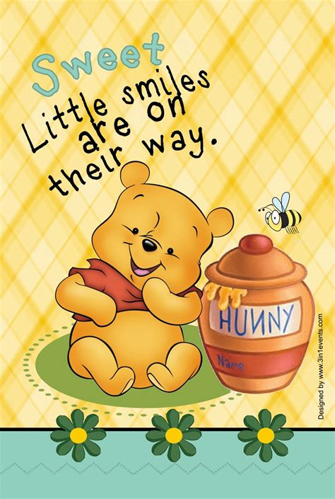 Bantal 3in1 Baby Pooh winnie the pooh baby shower invitation 3in1 events more quot store quot