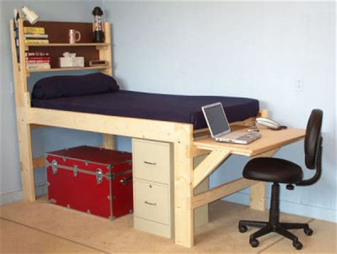 Loft Beds With Desk For Youth Kids Tween Teen And College Desk For College Students