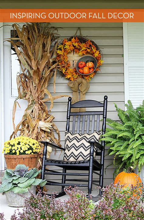 diy fall outdoor decorations eye attractive outdoor decor for fall 187 curbly