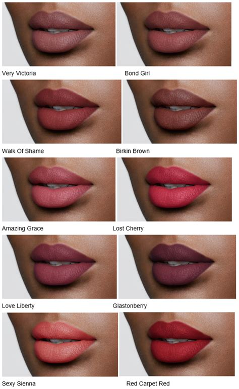 best nyx lip colors tilbury matte revolution luminous modern matte