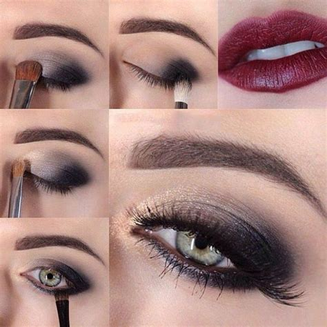 tutorial makeup smokey eyes sexy evening smokey eye makeup beauty zone
