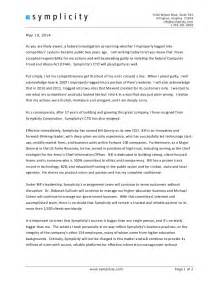 Ceo Resignation Letter by Simplicity Ceo Ariel Friedler Resignation Letter