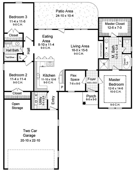 the gunter ridge 1603 3 bedrooms and 2 5 baths the house plans home plans and floor plans from ultimate plans