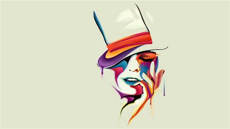 design art form face vector art hd artist 4k wallpapers images