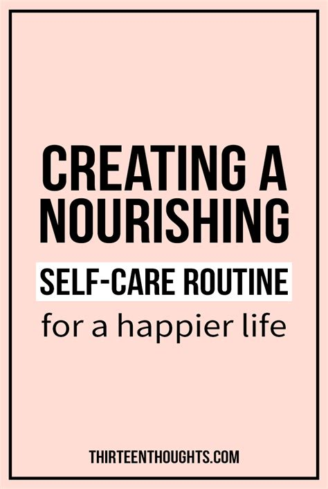 Nourishing Routine For midweek me up creating a nourishing self care