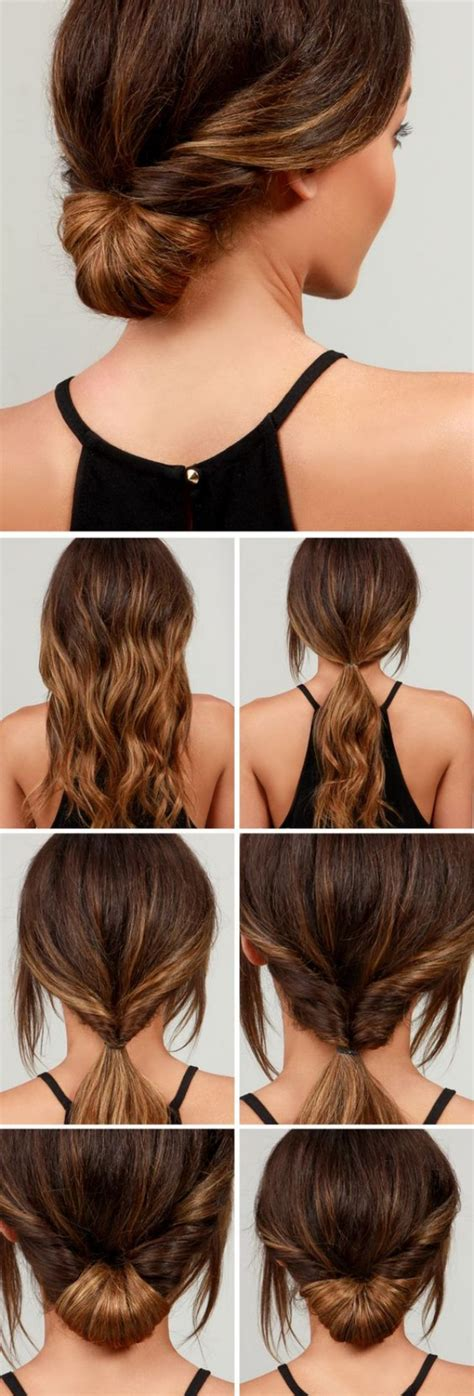 Five Minute Hairstyles by 60 Simple Five Minute Hairstyles For Office