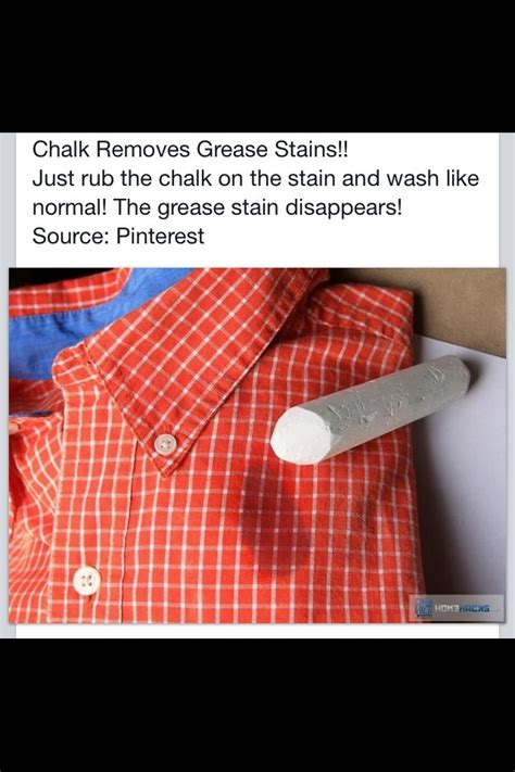 how to get rid of hair chalk stains get rid of grease stains on your clothes with chalk
