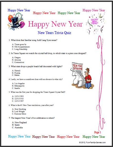 questions about new year new years trivia is a way to learn some new years facts