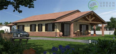 rendering casa rendering fotorealistici in legno green