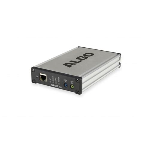 ip adapter algo 8301 ip paging adapter voip supply