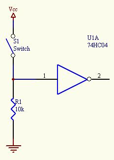 pull up resistor relay the basics basic circuits