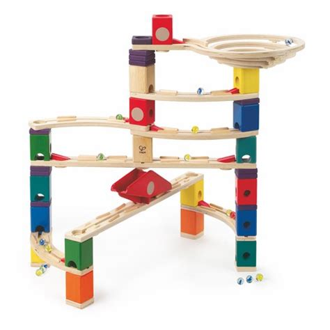 Which Hape Marble Run Quadrilla - quadrilla the roundabout marble hape shop at