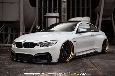 modified bmw heavily modified bmw m4 coupe slammed to the ground