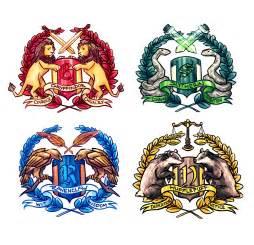 hogwarts house stickers storenvy