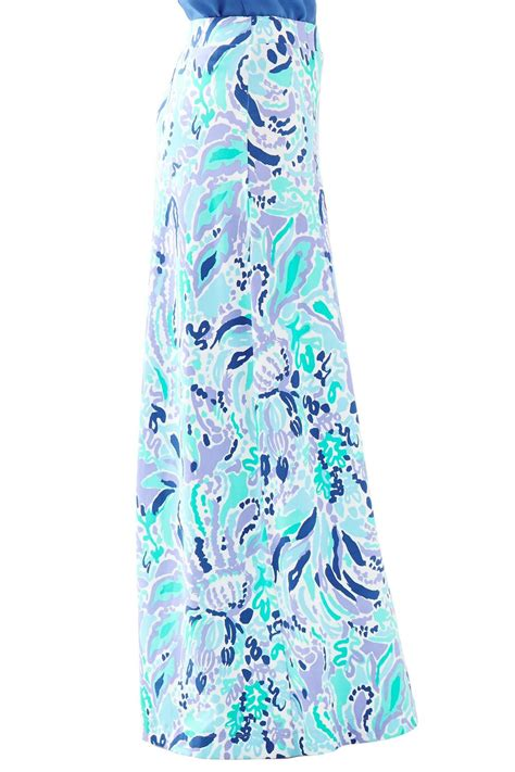 lilly pulitzer nola a line maxi skirt from sandestin golf