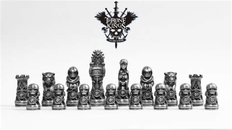 Star Wars Chess Sets by 3ders Org 3d Printed Chess Game Throne Of Kings The