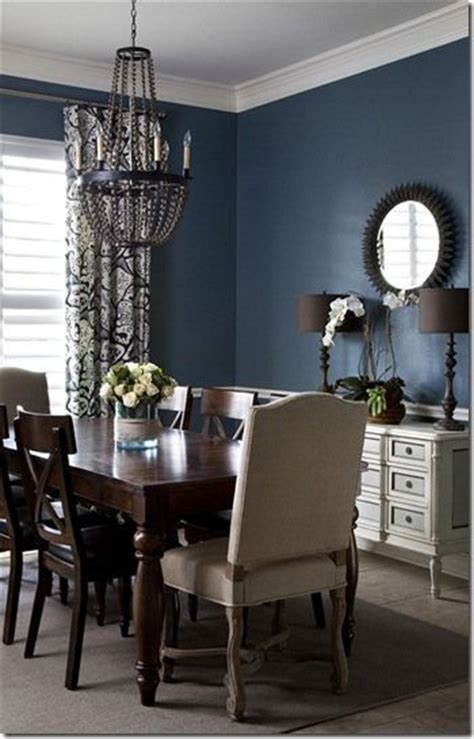 wall in formal dining room for the home