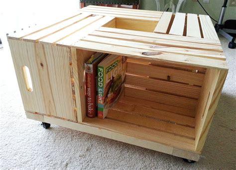 lada legno design creare un tavolino da caff 232 con le cassette di frutta
