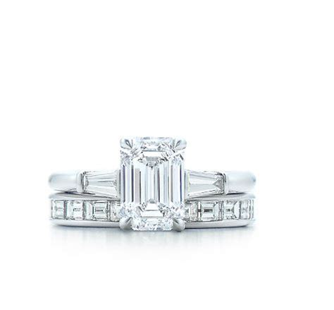 tiffany co engagement rings emerald cut with