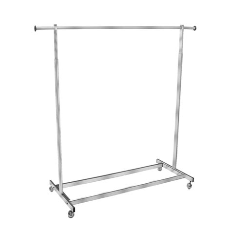 rolling garment rack rolling garment rack salesman rack single bar clothing