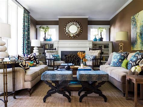 house interior designs blue and color theory and living room design hgtv