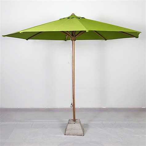 Teak Patio Umbrella Terrain Teak Patio Umbrellas