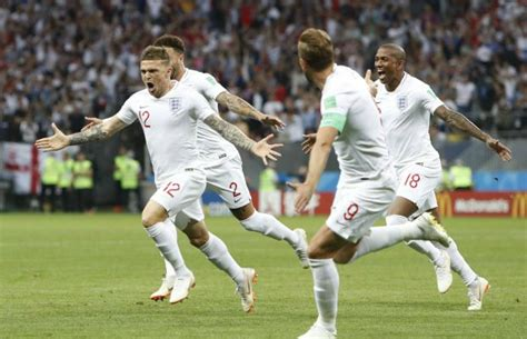 kieran trippier goal  england equals world cup record
