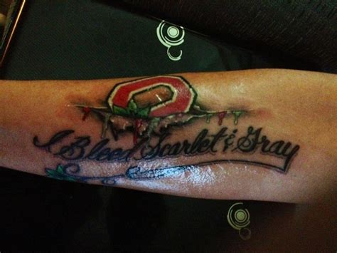 state college tattoo 25 best ideas about ohio state tattoos on