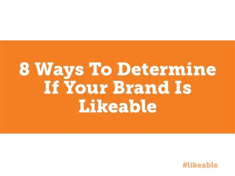 8 Ways To Tell If Your Child Is In Bad Company by 8 Ways To Determine If Your Brand Is Likeable