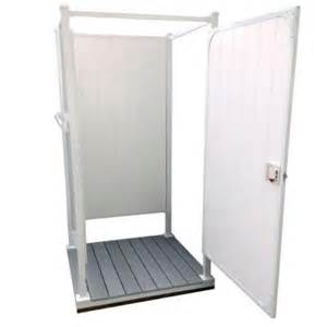 home depot outdoor shower toddpod 46 in x 46 in x 87 in 3 sided single outdoor