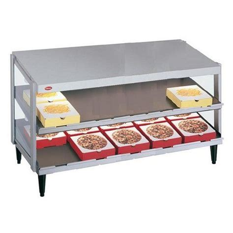 Pizza Chef Shelf hatco pizza warmer counter top pass through 2 shelf 48 quot x 24 quot standard finish grpws 4824d