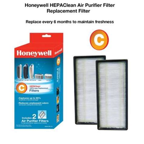 honeywell hrf c2 hepaclean 174 replacement filter 2 pack honeywell store