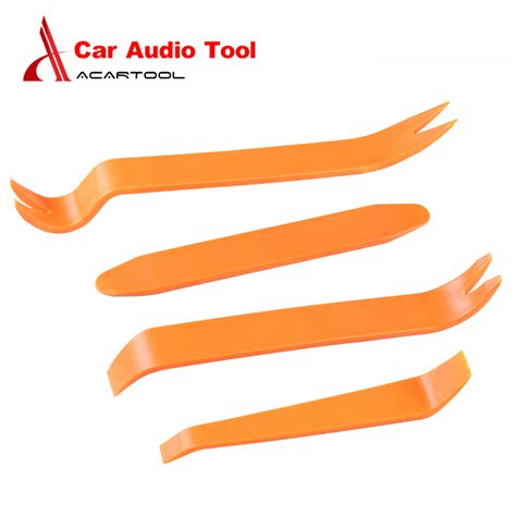 4pcs Portable Auto Car Styling Removal Disassembly get cheap radio dash kits aliexpress alibaba