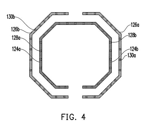 differential inductor symmetric differential inductor 28 images patent us7242274 inductor layout using step