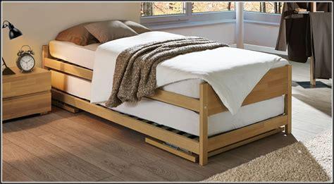 Betten Zum Ausziehen Betten House Und Dekor Galerie
