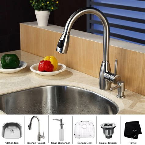 Kitchen Sink Faucets With Soap Dispenser