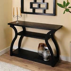 Contemporary Entryway Table Contemporary Black Sofa Hallway Entryway Console Table