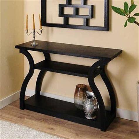 Black Entryway Table Contemporary Black Sofa Hallway Entryway Console Table