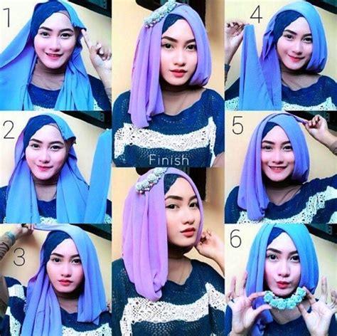 tutorial hijab persegi empat untuk wisuda 23 model hijab wisuda 2017 terpopuler dan modern fashion