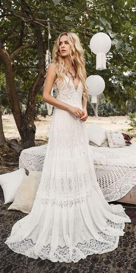 Boho Wedding Dress by Trending 30 Boho Chic Wedding Ideas For 2018 Oh Best Day