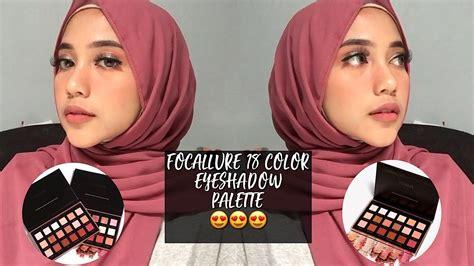 Focallure 18 Eyeshadow Palette 1 Bright focallure bright 18 eyeshadow palette makeup time